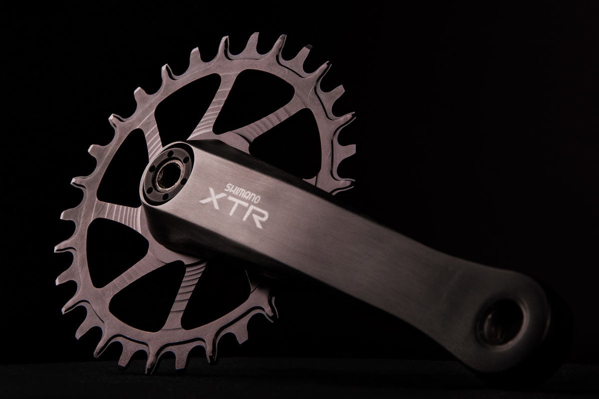 Shimano XTR FC-M952 w/Direct Mount Chainring Garbaruk 1