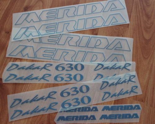 Merida Dakar 630 Decals