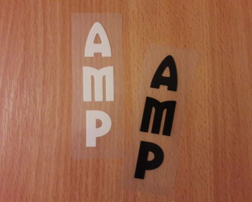 AMP Fork Decals/Nalepky